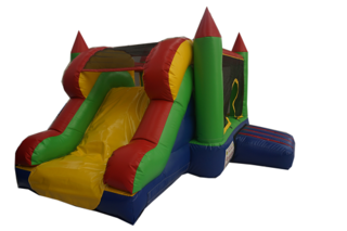 Mini Bounce N Slide Castle - Hire Price $160