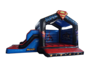 Superhero Bouncy Castle Hire for $220