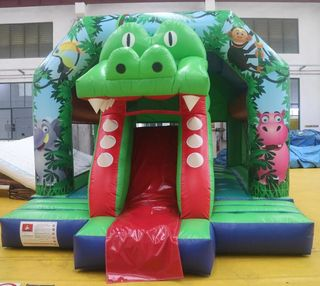 Crocodile Bounce Castle Hire