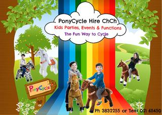 Pony Cycle Hire ChCh