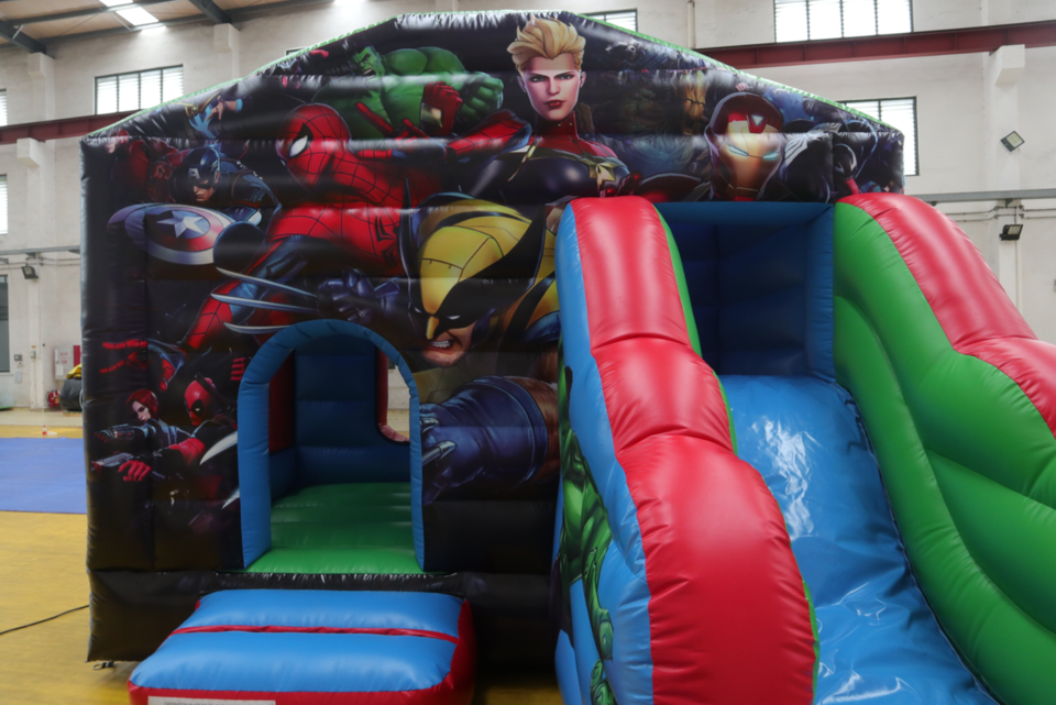 Marvel Bounce House - Hire price $180
