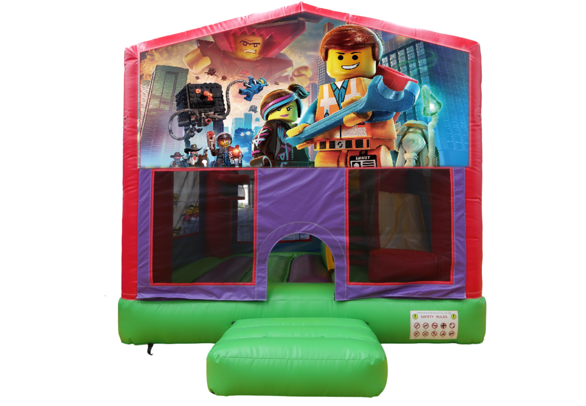 Lego Bounce House - Hire price $200
